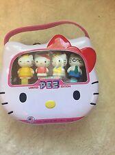 Sanrio Hello Kitty Limited Edition Pez Metal Lunch Box Set 40th Anniversary