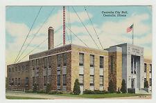 1945 Linen Centralia City Hall, Centralia IL, Illinois