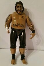 "WWE: UMAGA 7"" Action Figure, Jakks Pacific, 2004, Collectible, RARE"