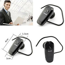 Bluetooth Mono Earphone Earpiece Handsfree Headset Headphone For CellPhone Eforc