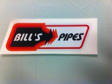 Bill's Pipes Red vintage reproduction Decal ATC TRX LT 250R 250 350X CR KX RM