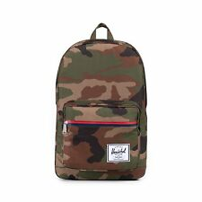 Herschel Supply Co. Pop Quiz Backpack in Woodland Camo/Multi Zip NWT Free Ship