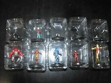 Heroclix Invincible Iron Man Complete 10 Figure Gravity Feed GF CTD Set 201-210