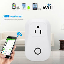 Smart WiFi Remote Control Timer Socket Outlet Switch US Plug For Android iPhone
