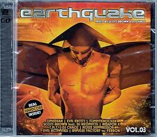 EARTHQUAKE VOL. 3 - MIXED BY SCOTT BROWN & DJ CHAOZ / 2 CD-SET - NEU