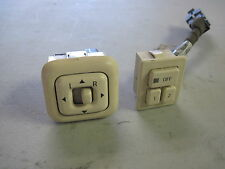 1997 1998 MARK VIII POWER MEMORY SEAT SWITCH BUTTON with mirror switch cream