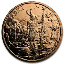 Norse Gods Series Loki - Valkyrie 1 oz .999 Copper BU Round USA Bullion Coin