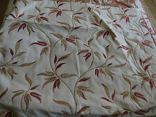 MASSIVE REMNANT Harlequin Kira Red Furnishing Fabric - Approx 143cm x 2.5M