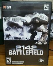 Battlefield 2142  (PC, 2006)DVD ROM GAMES COMPUTER SOFTWARE ORIGINAL WARFARE