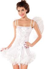 Neu Sexy Angel Engel Fasching Kostüm Karneval Motto Party 36 38 40 S/M  ! 8186