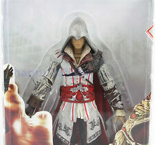 "Assassin's Creed II white Ezio 7"" PVC Collection Action Figure New in Box"