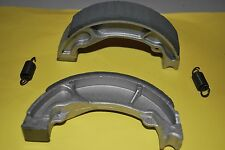 REAR BRAKE SHOES WITH SPRINGS TO FIT HONDA  NES125 2000 TO 2006