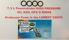 7.3L Ford Powerstroke HIGH PRESSURE OIL RAIL HPX O-RINGS set of 4 Aftermarket