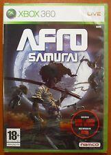 Afro Samurai, Namco, Xbox 360, Pal-España ¡¡NUEVO Y PRECINTADO A ESTRENAR!!