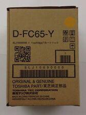 Toshiba DFC65Y Yellow Developer 6LJ10690000 eStudio5540C/5560C/6540C/6550C/6570C