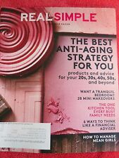 REAL SIMPLE MAGAZINE MARCH 2015 ANTI-AGING STRATEGY TRANQUIL BEDROOM MAKEOVER