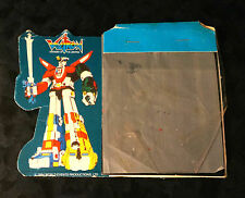 1984 VOLTRON x2 Lot PAPER Magic World Events Productions Action Figure Slate Toy