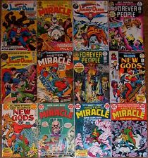 New Gods 9 10 Forever People 6 8 Mr Miracle 3 15 Jimmy Olsen 144 Kirby Lot of 12