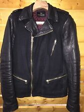 SCOTCH & SODA MEN LEATHER JACKET
