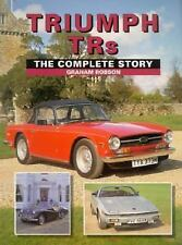 TRIUMPH TRS THE COMPLETE STORY GRAHAM ROBSON TR2 TR3 TR4 TR5 TR250 TR6 TR7 TR8