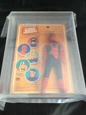 UKG 80 AFA calificado Mego Spider-Man mayor superhéroes 1979 Marvel Figura De Juguete