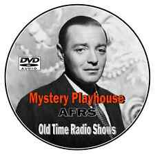 Mystery Playhouse (AFRS)  90 Old Time Radio Shows - MP3 DVD_CD
