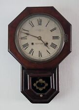 """Reloj De Pared viejo de marcado de caída """"Neptuno"""" Made in Japan Comprado En India-trabajo"""