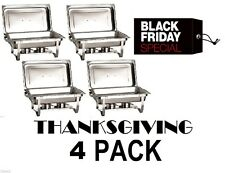 CATERING 4 PACK CHAFER CHAFING Dish Sets 8 QT BLACK FRIDAY DEAL FAST SHIPPING