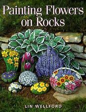 Painting Flowers on Rocks by Wellford, Lin