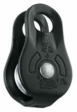 FIXE PULLEY ( Matte Black ) Fixed SideplateS by PETZL
