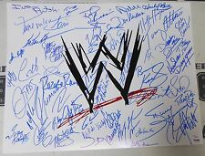 Hulk Hogan Razor Ramon Lita X-Pac Sunny +46 WWE Stars Signed 16x20 Photo PSA/DNA