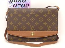 d6204 Auth VINTAGE LOUIS VUITTON Monogram Bordeaux Clutch Shoulder Bag M51798