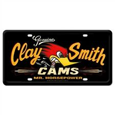 CLAY SMITH HORSEPOWER LICENSE PLATE   NOVELTY PLATE  MOONEYES HOT ROD CUSTOMS