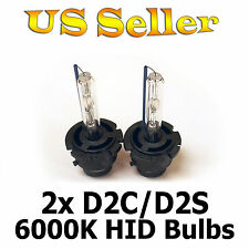 BRAND NEW 2Pcs Xenon HID D2S 6000K 35W Head Light Replacement Bulb Lamp