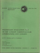 1968 NASA CONTRACTOR REPORT CR-1206 Cardiovascular Conditioning Suit Concept