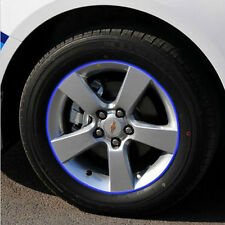 16pc Reflective Rim Tape Wheel Stripe Decal Trim Sticker For Car Motorcycle Bike