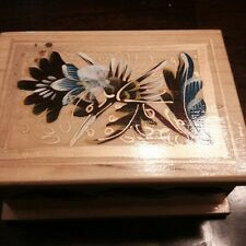 Decorative Wooden Box for Jewelry or other Keepsakes