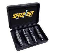 ORIGINAL SpeedOut® Damaged Screw Extractor 4PC Set Speed Out