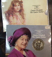United Kingdom 1990 Queen Mother Birthday  5 pound Coin