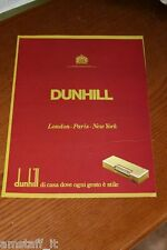 BH3=1972=DUNHILL ACCENDINO LIGHTER=PUBBLICITA'=ADVERTISING=WERBUNG=