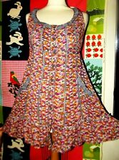 BONOBO ON THE ROAD ROBE TUNIQUE  DRESS FOLK LIBERTY TS OU 38/42
