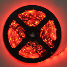 3528 SMD Red 5m 300 leds Flexible Strip Light Lamp Non-Waterproof LED Tape DC12V
