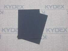 2N0 2MM KYDEX T SHEET SHEATH HOLSTER 297 X 210 A4  (P-1 HAIRCELL BLACK 52000)