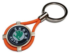 Portachiavi SKODA auto moto keyring MADE IN ITALY idea regalo OR