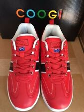 COOGI CHAMBERS MENS SHOES SNEAKERS CASUAL RED SIZE 9 ~ 100% AUTHENTIC NWB