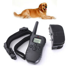 Electric Trainer E-Collar Remote Pet Safe Dog Shock Training Collar Waterproof