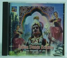 CD Atul Desai  Indian Dance Ecstasy The Rhytm of Life Windpferd Music 1996