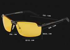 HD Night Vision Driving Glasses Men's Polarized UV400 Sunglasses Sports Eyewear