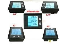 AC 80-260V LCD Digital 10A Volt Watt Power Meter Ammeter Voltmeter 110V 220V