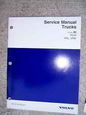 1996 Volvo Truck Service Manual Hood VNL VNM   MORE TRUCK MANUALS IN STORE   T